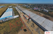Global Logistic Park inchiriere hala Bucuresti nord- vest vedere fatada laterala