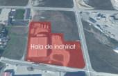 Hala de inchiriat Brasov inchiriere spatiu depozitare Brasov vest vedere satelit