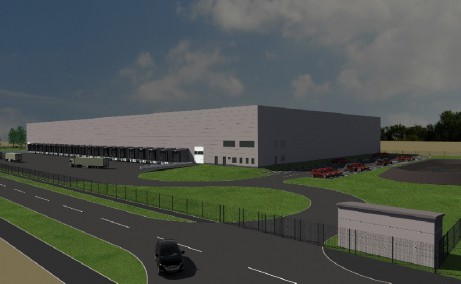 Indutrial Warehouse Giarmata