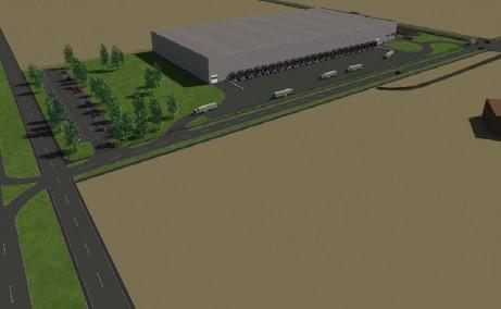 Hala Industriala Giarmata  inchirieri proprietati industriale Timisoara nord-est vedere satelit