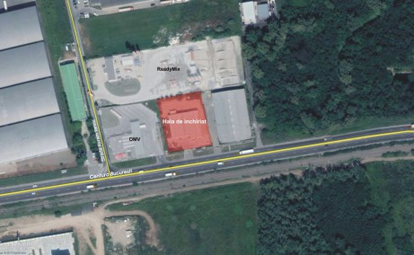 Hala Temperatura Controlata - Otopeni inchiriere spatiu depozitare  Bucuresti nord imagine din satelit