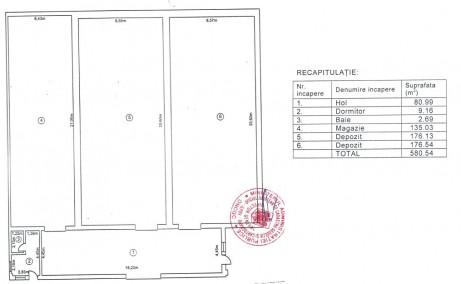 Hala Temperatura Controlata - Otopeni inchiriere spatiu depozitare  Bucuresti nord releveu constructie