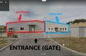 Hala Temperatura Controlata - Otopeni inchiriere spatiu depozitare Bucuresti nord interior intrarea depozit