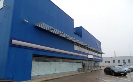 Triton Center inchiriere spatii industriale Bucuresti nord vedere laterala stanga