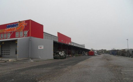 Triton International Cargo inchiriere spatii depozitare Bucuresti nord imagine imobil incinta