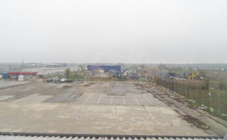 Triton International Cargo inchiriere spatii depozitare Bucuresti nord imagine de ansamblu gard imprejmuit