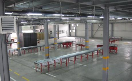 Triton International Cargo spatii depozitare Bucuresti nord vedere spatiu interior