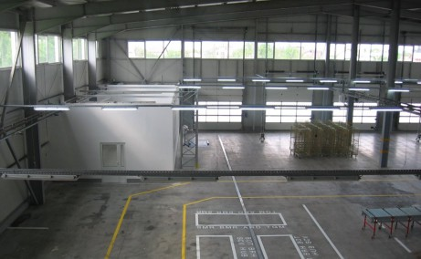 Triton International Cargo inchiriere spatii depozitare Bucuresti nord imagine de ansamblu  spatiu interior