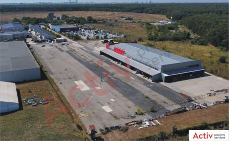 Triton International Cargo inchiriere spatii depozitare Bucuresti nord imagine platforma acces tir