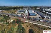 Triton International Cargo inchiriere spatii depozitare Bucuresti nord poza acces drum principal