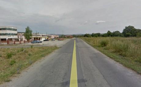 Hale Industriale Fagaras hale industriale de vanzare in sudul orasului Fagaras cu acces direct din Soseaua Hurezului (DJ104C), imagine cale de acces
