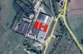 Hale Industriale Fagaras hale industriale de vanzare in sudul orasului Fagaras cu acces direct din Soseaua Hurezului (DJ104C), vedere satelit