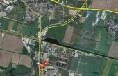 Hala EuroBusiness I inchiriere spatiu depozitare Bucuresti est vedere din satelit