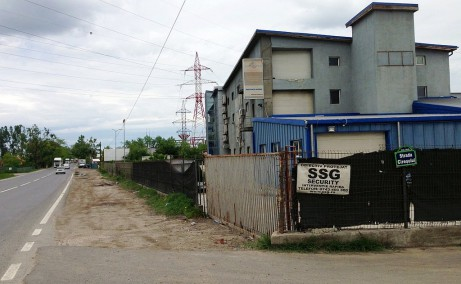 Hala EuroBusiness II inchiriere spatiu depozitare Bucuresti est vedere laterala