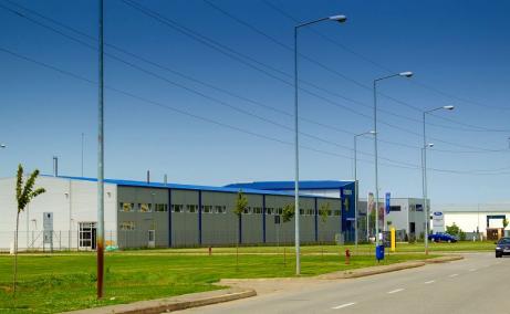 Oradea Euro Business Park 2 inchirieri parcuri industriale Oradea sud vedere laterala