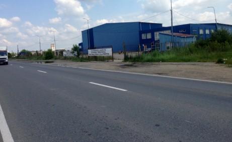 Ecom Logistic Center inchiriere spatiu depozitare Popesti-Leordeni poza cale de acces