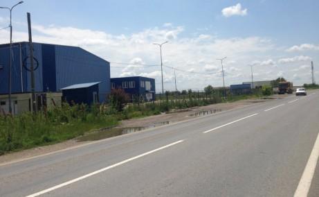 Ecom Logistic Center inchiriere spatiu depozitare zona de sud-est a municipiului Bucuresti, poza cale de acces