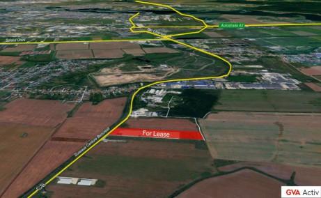 Ecom Logistic Center hale industriale de inchiriat zona de sud-est a municipiului Bucuresti, Popesti-Leordeni, vedere satelit