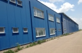 Ecom Logistic Center inchiriere spatiu depozitare zona de sud-est a municipiului Bucuresti, poza laterala hala