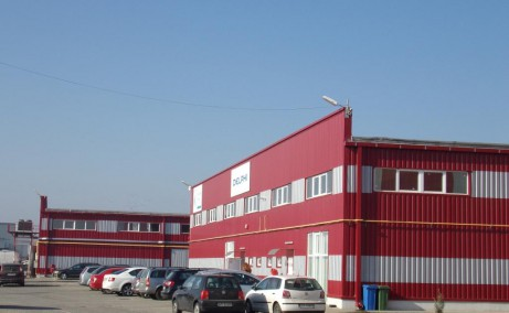 Parc Industrial UTA 2 hale de vanzare Hale de vanzare in Parcul Industrial UTA 2 in nordul municipiului Arad, vedere parcare