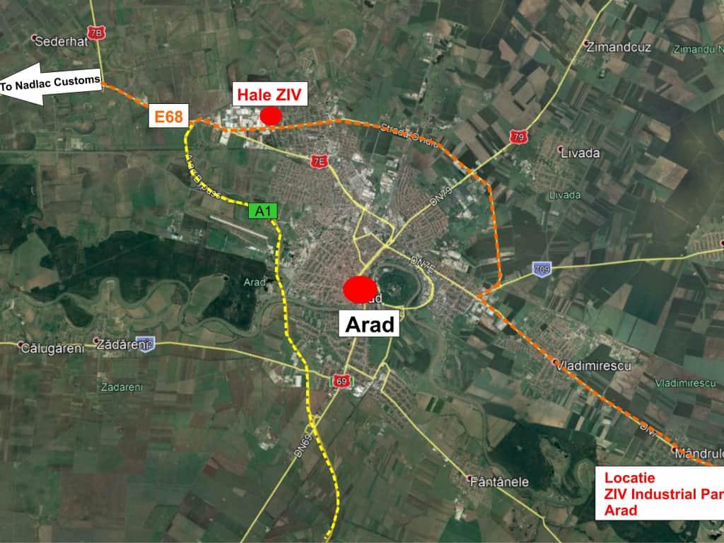 Hale De Vanzare Arad Zona Industrala Vest