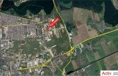 Hala Oxigenului inchiriere spatiu depozitare Bucuresti est vedere din satelit