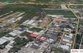 Hala Oxigenului inchiriere spatiu depozitare Bucuresti est vedere din satelit zona