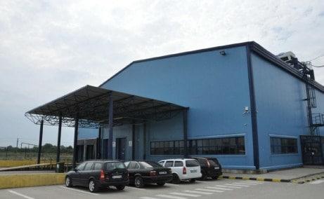 Innovations Park parcuri logistice inchiriere Bucuresti sud-vest vedere laterala intrare