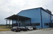 Innovations Park parcuri inchiriere spatiu depozitare Bucuresti sud-vest vedere laterala intrare