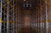 Innovations Park parcuri logistice inchiriere Bucuresti sud-vest vedere interior structuri metalice