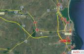 Black Sea Vision inchiriere spatiu depozitare Constanta sud vedere din satelit