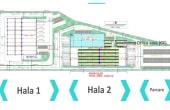 Otopeni Airport Service Center inchiriere spatiu depozitare Bucuresti nord plan cadastral
