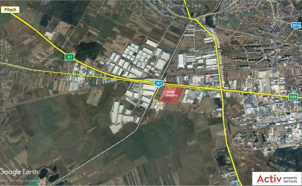 Industrial Warehouse For Rent In Chiajna