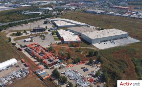 Mega Company Chiajna inchiriere spatiu de depozitare Bucuresti vest imagine platforma betonata