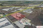 Mega Company Chiajna inchiriere spatiu de depozitare Bucuresti vest vedere satelit