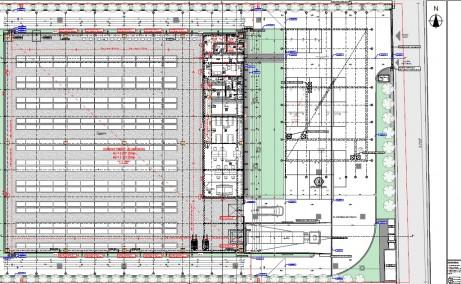 Spatii industriale Litera inchiriere spatiu depozitare Bucuresti vest plan cadastral cladire