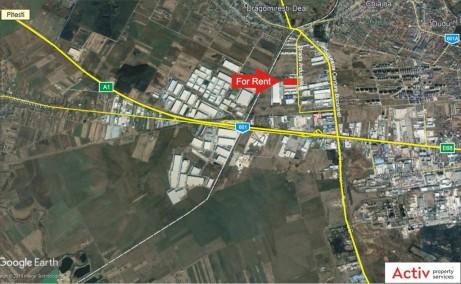 Spatii industriale Litera inchiriere spatiu depozitare Bucuresti vest localizare harta Bucuresti