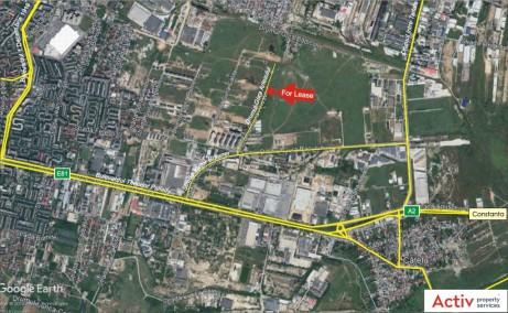 Hala MobVip inchiriere proprietati industriale Bucuresti est localizare harta