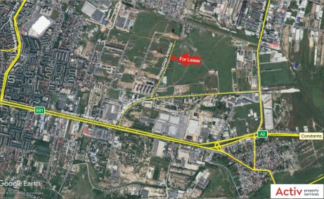 Hala MobVip spatii depozitare de inchiriat Bucuresti est localizare harta