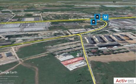 Hala MobVip inchiriere proprietati industriale Bucuresti est localizare map
