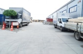 Hala MobVip inchiriere proprietati industriale Bucuresti est vedere hala curte interioara