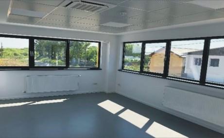 Hala ArcoExpert inchiriere proprietati industriale Bucuresti vest  vedere interior birouri