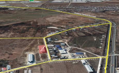 Hala ArcoExpert inchiriere proprietati industriale Bucuresti vest  vedere satelit