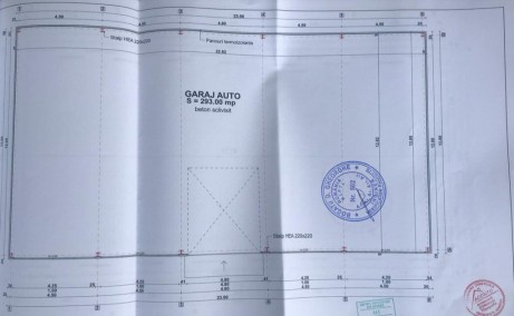 Hala Manastirea inchiriere proprietati industriale Bucuresti nord-vest plan