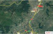 Hala Calea Clujului inchiriere spatiu depozitare Alba Iulia Nord localizare harta