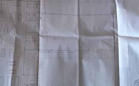 Showroom cu service de vanzare proprietati industriale Arad plan