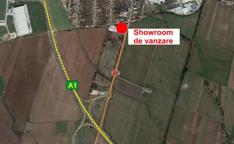 Showroom cu service de vanzare proprietati industriale Arad localizare