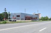 Showroom cu service de vanzare proprietati industriale Arad vedere laterala