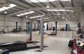 Showroom cu service de vanzare proprietati industriale Arad vedere interior service