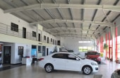 Showroom cu service de vanzare proprietati industriale Arad vedere interior showroom